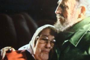 Hebe de Bonafini y Fidel Castro